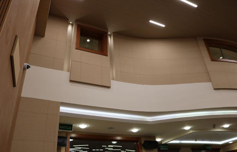 05. Paneles acústicos Ministry of urban planing Doha