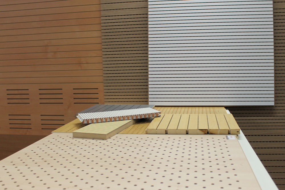 Wood Sound Absorbing Materials