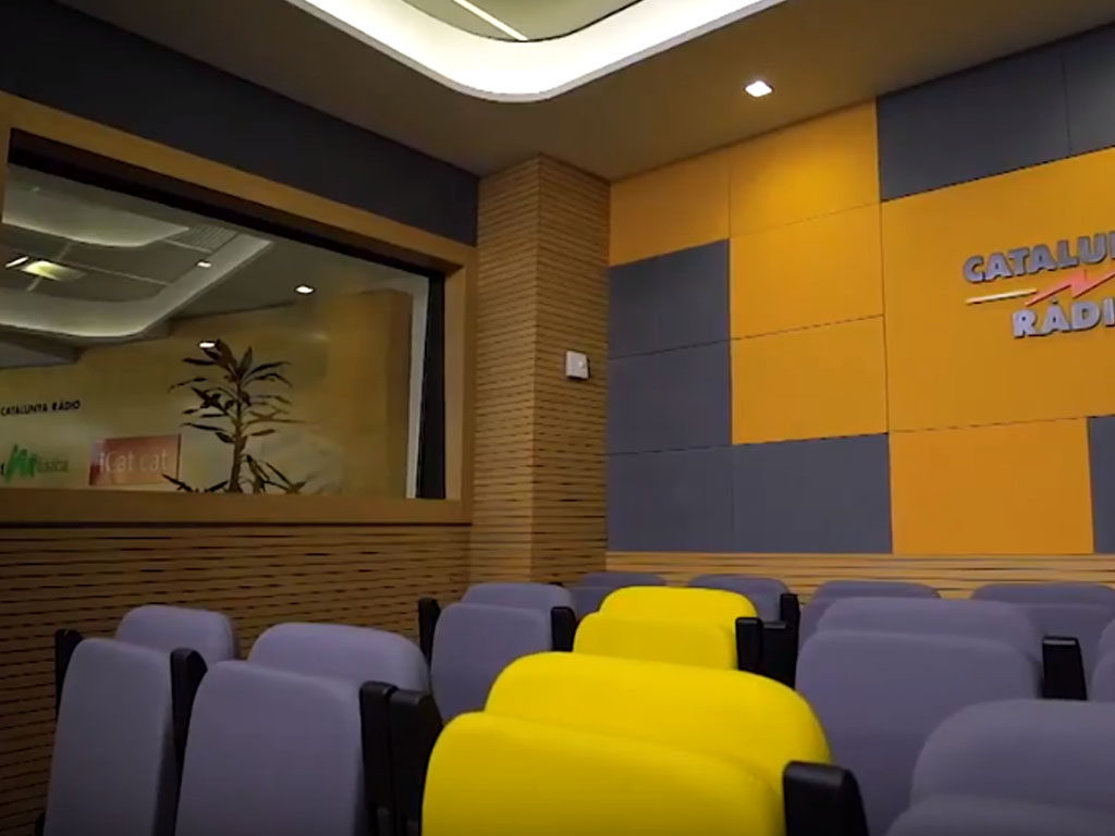 Acoustic Panels For Radio Studios Studio At Catalunya Radio