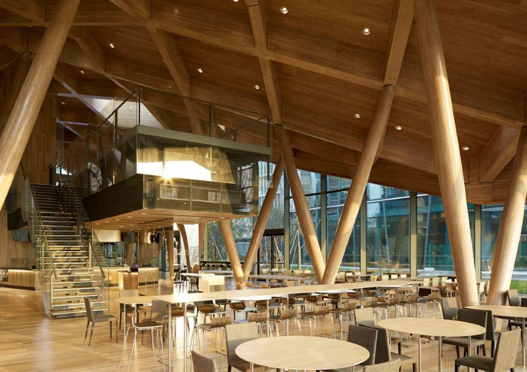 005 techos de madera interiores interior wood ceilings plafonds bois intérieurs