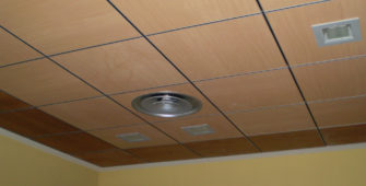 dest falso techo registrable accessible false ceiling plafond suspendu en bois