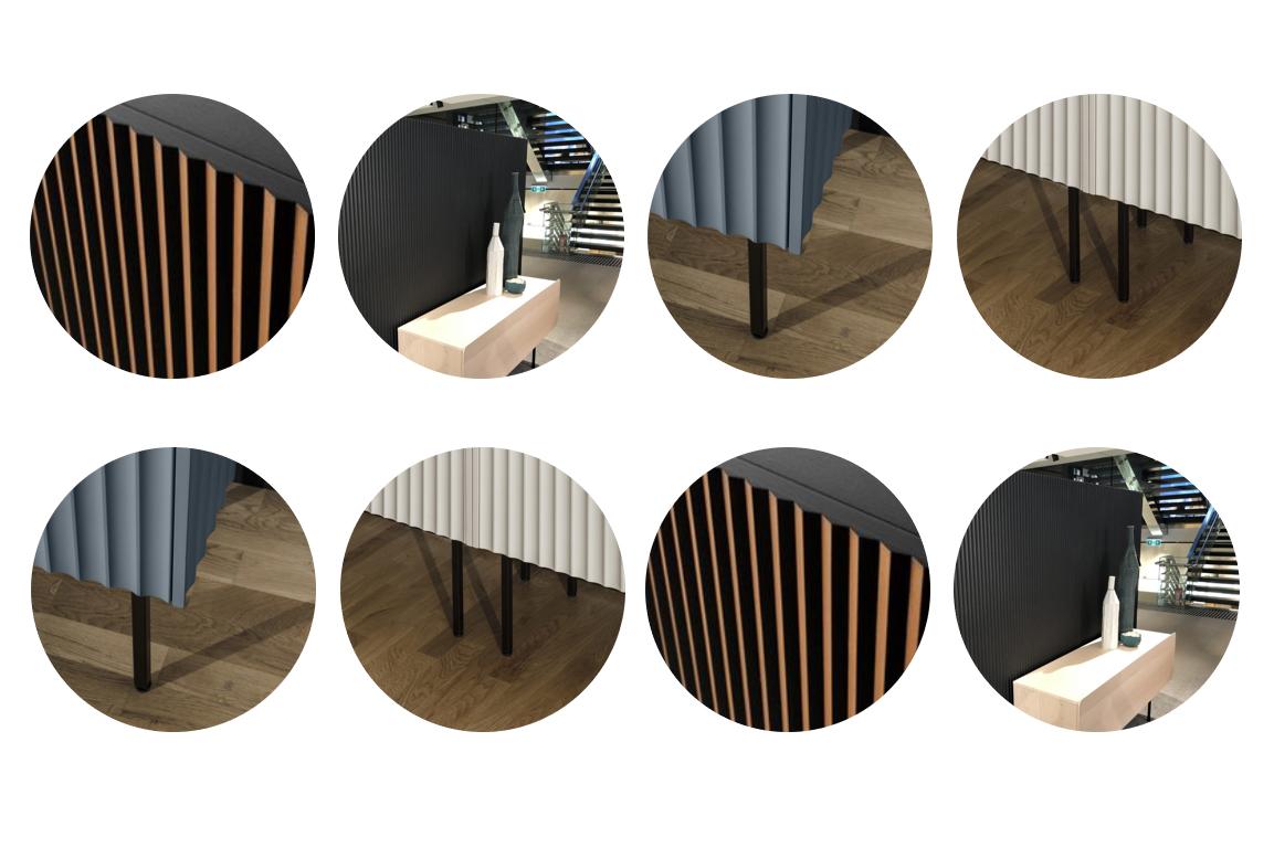 características de los paneles decorativos de madera 02